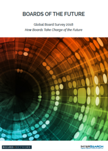 Global Board Survey 2018 – Boards Of The Future (published in February 2018)