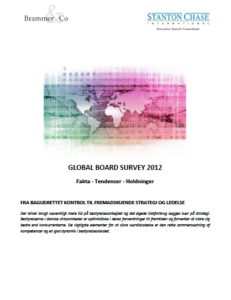 Global Board Survey 2012 (published in March 2012)