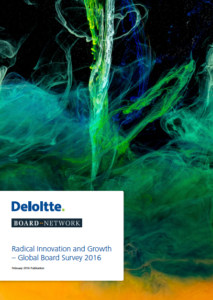 Global Board Survey 2016 – Radical Innovation And Growth (published in February 2016)