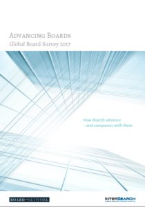 Global Board Survey 2017 – Advancing Boards (published in February 2017)